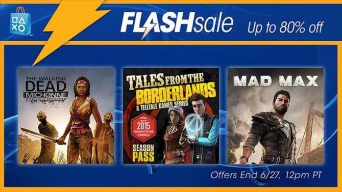 NA PSN Flash Sale: June 24th, 2016