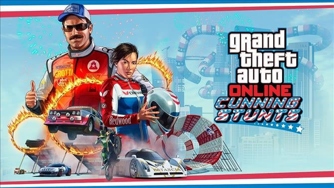 GTA Online Adds More Races, Double RP in All Stunt Series Races July 27th-29th