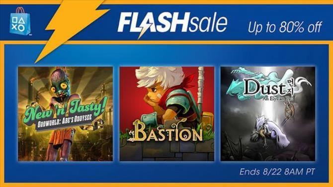 NA PSN Flash Sale: August 19th, 2016