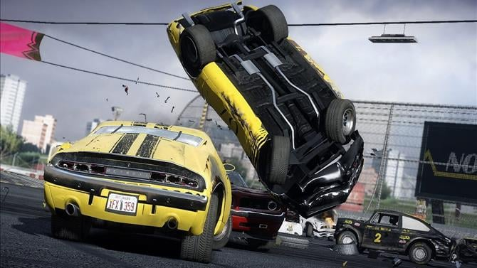 Wreckfest Announced For Consoles