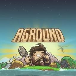 Aground