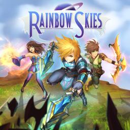 Rainbow Skies (Asia)