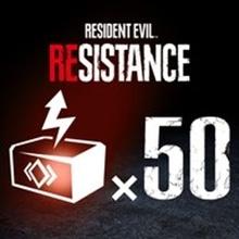 RESIDENT EVIL RESISTANCE - RP Booster 50-Pack