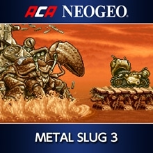 ACA NEOGEO METAL SLUG 3 (English/Japanese Ver.)