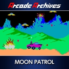 Arcade Archives MOON PATROL (English/Japanese Ver.)