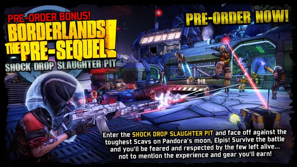 Borderlands: The Pre-Sequel Receives Release Date
