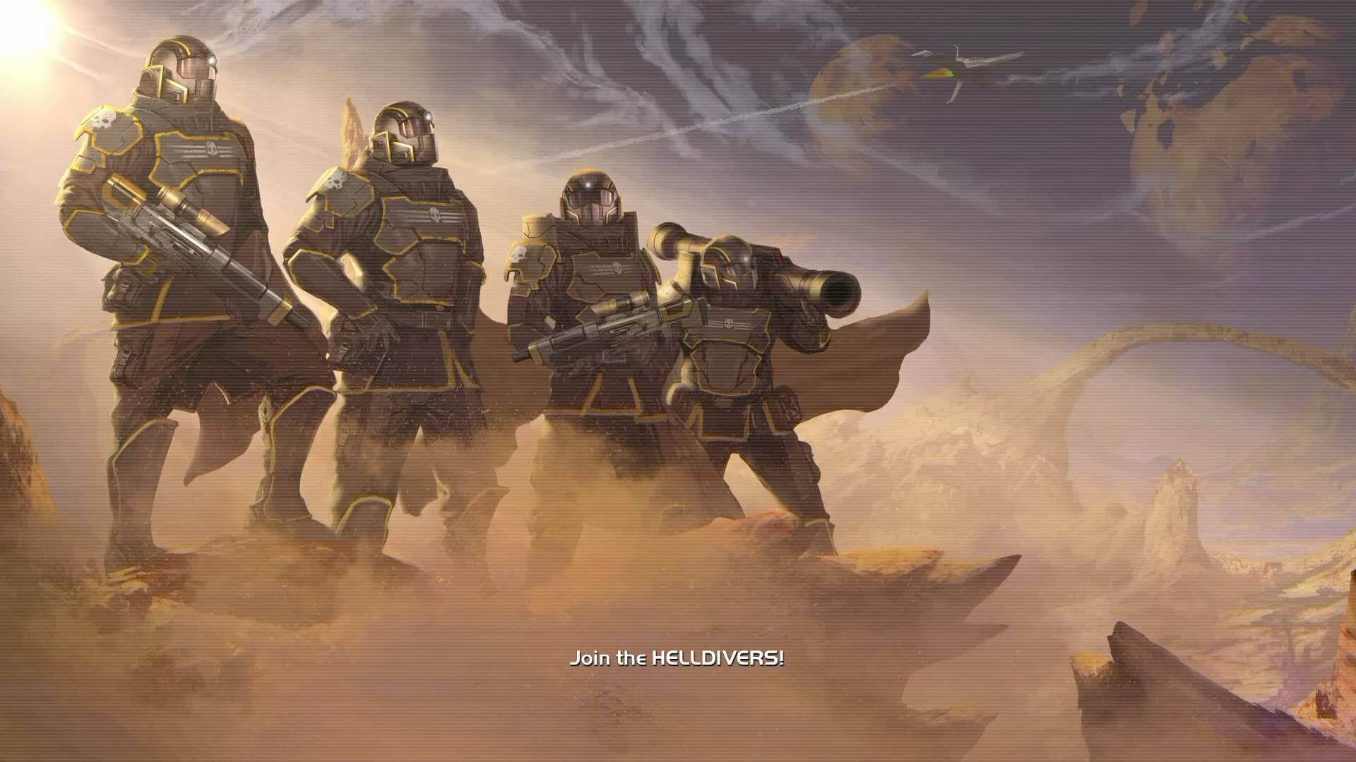 Join the Helldivers!