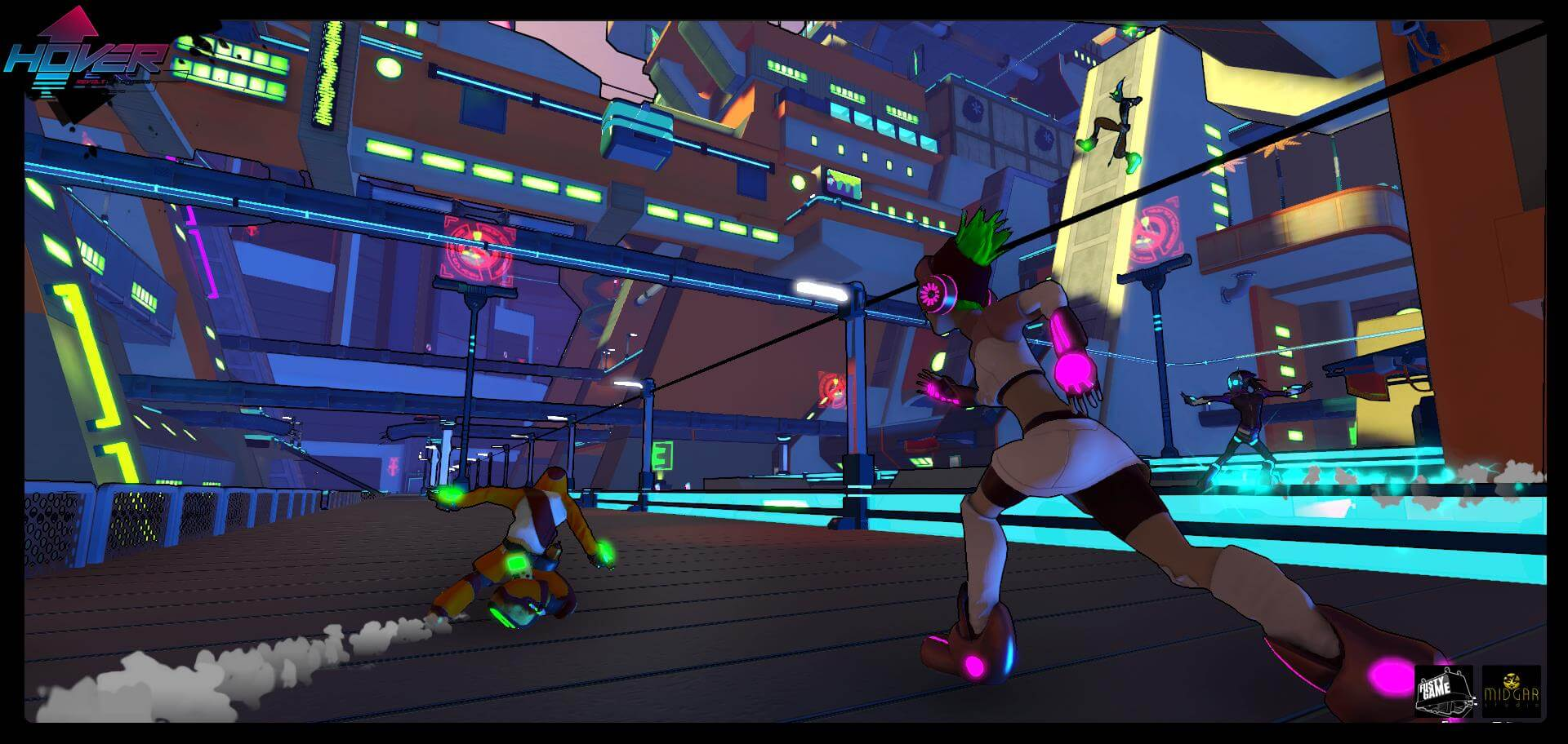 Hover: Revolt of Gamer Screens Leap at Us