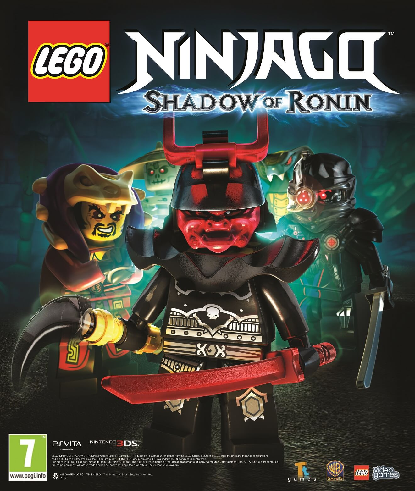 LEGO Ninjago: SoR Reveals Villains