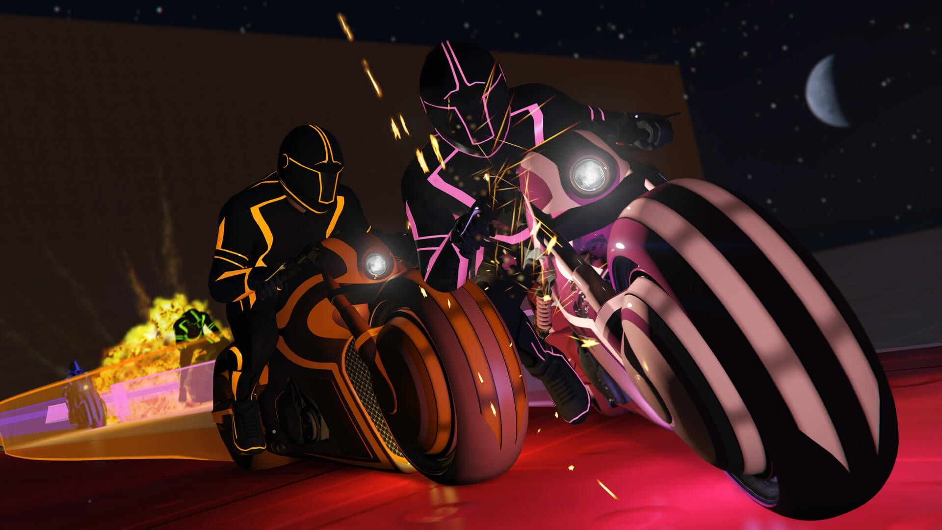 GTA Online: Deadline Offers Tron-Like Bikes and a New Adversary Mode