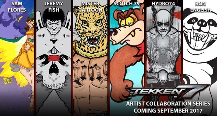 Tekken 7 Announces Free Character Panel Art DLC