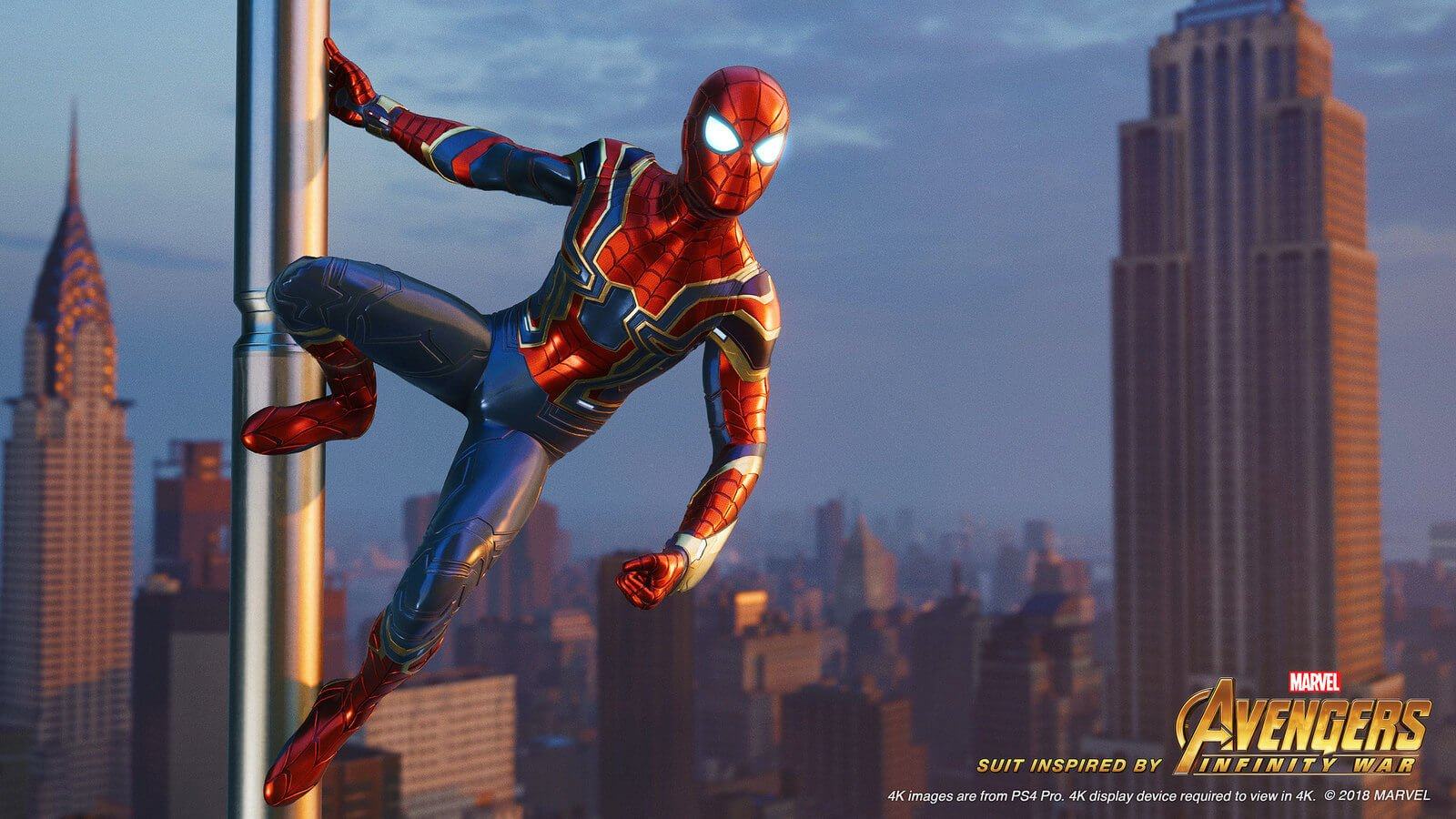 Iron Spider Suit Revealed For Marvel S Spider Man