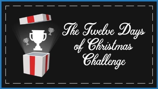 Introducing The Twelve Days of Christmas 2018 Community Challenge