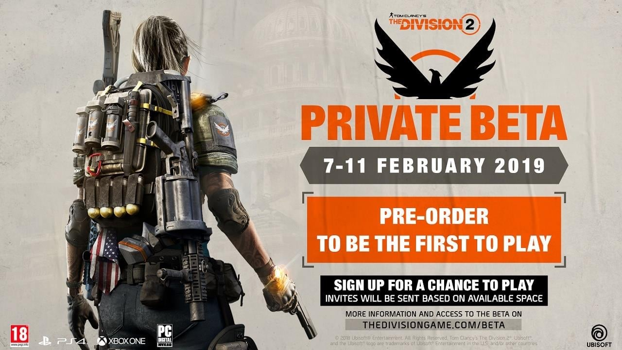 The Division 2 Beta Advice: Restart the Game Every Two to Three Hours