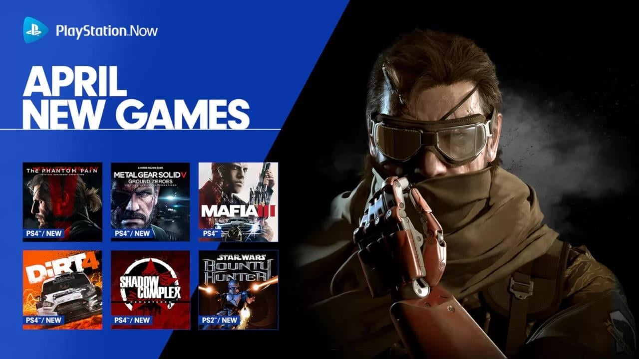 PlayStation Now Adds Metal Gear Solid V and Star Wars