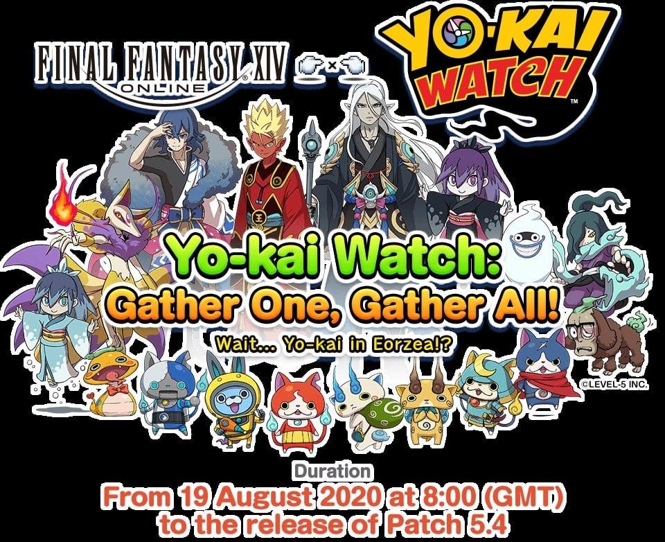 FFXIV Yokai Watch crossover event