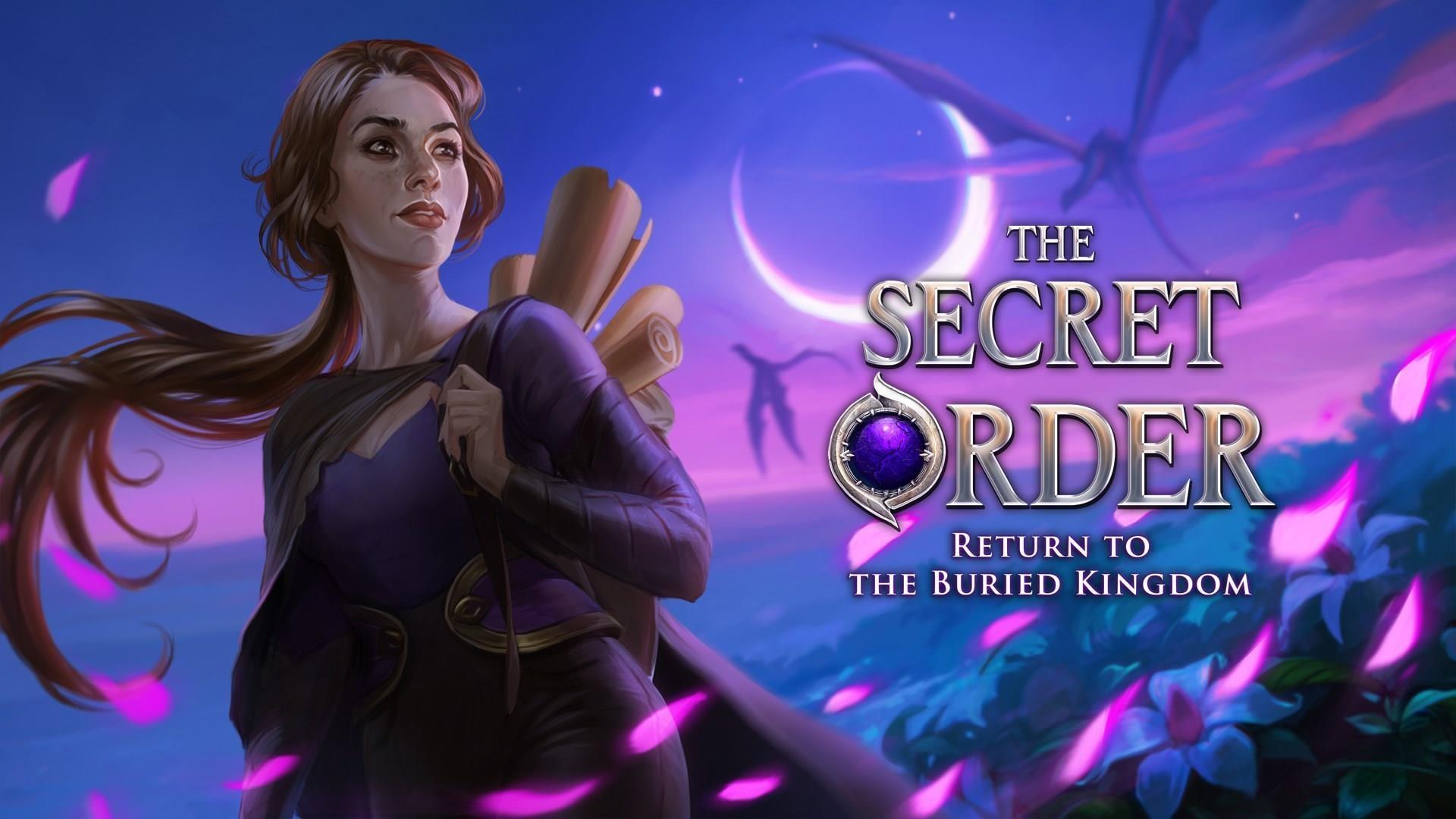 The Secret Order: Return to the Buried Kingdom ~ trailer