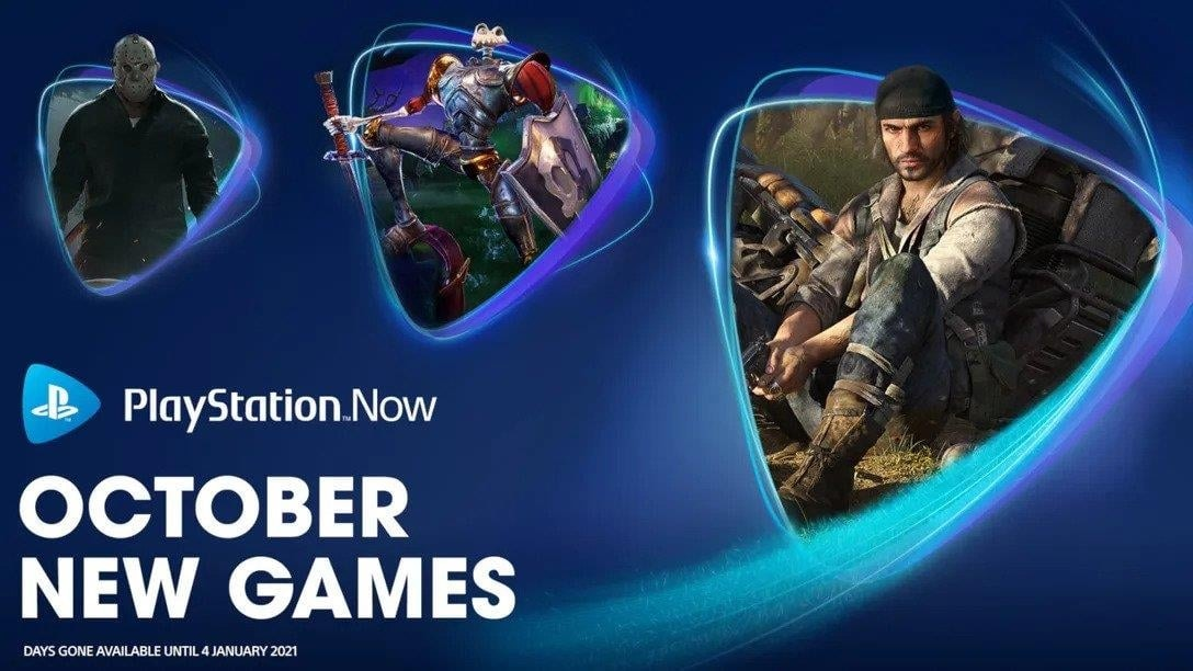 PS Now October 2020