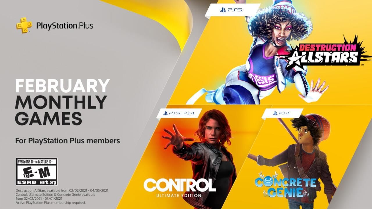 February PS Plus games