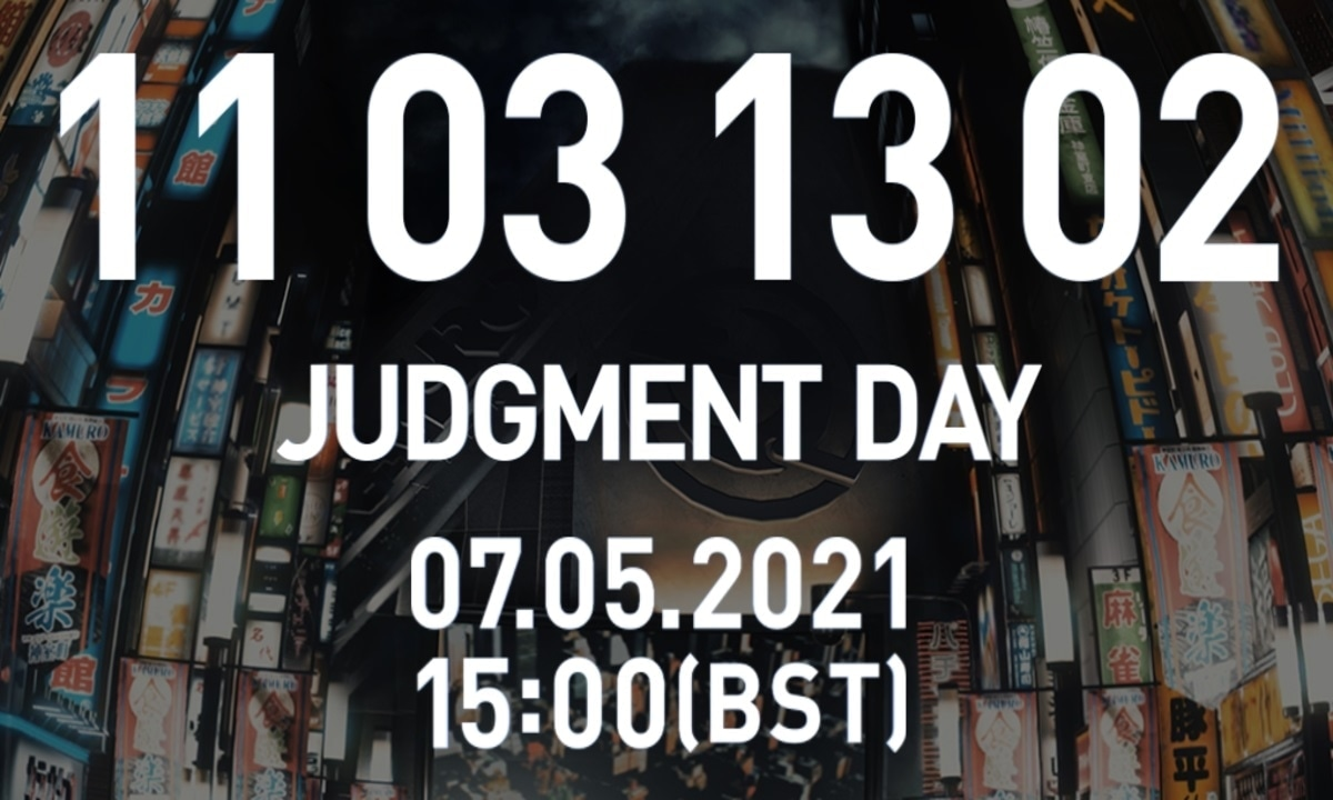 Judgment yakuza sequel countdown
