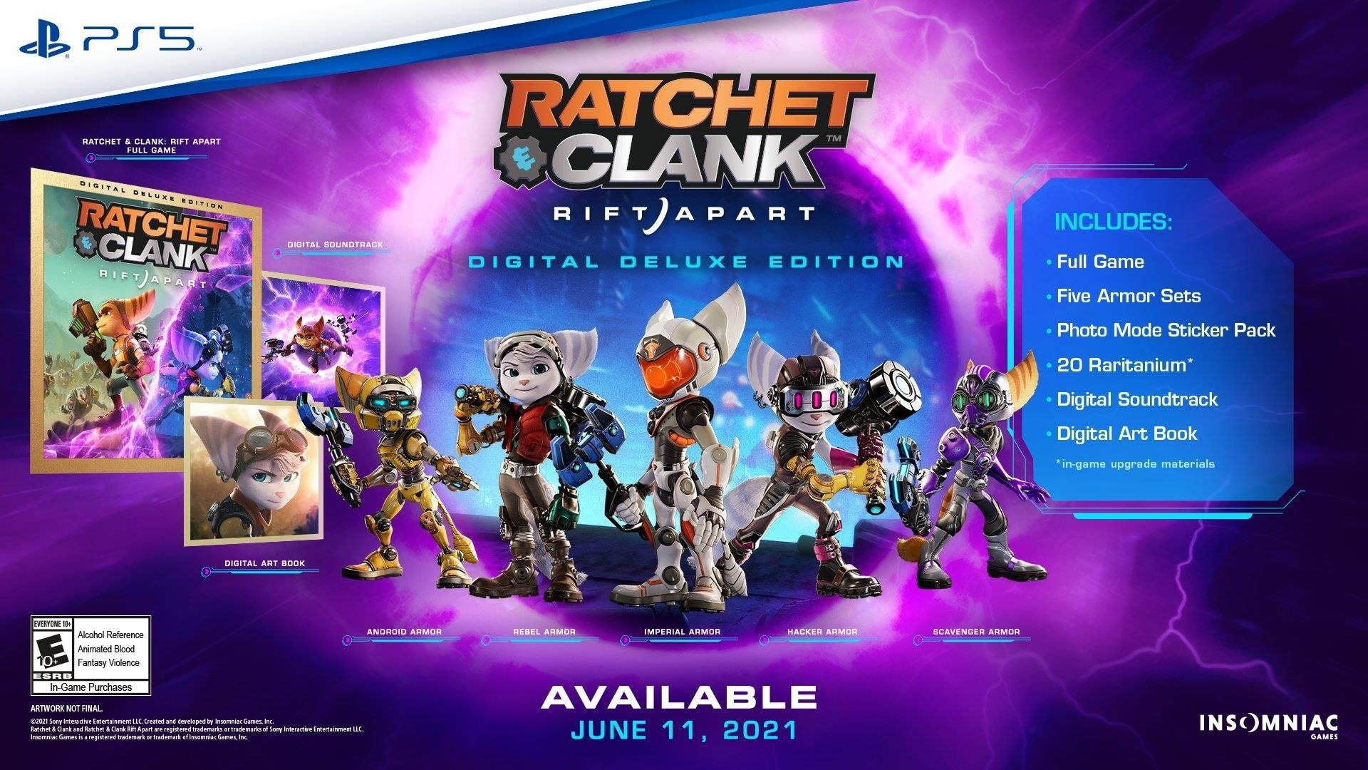 Ratchet & Clank: Rift Apart Digital Deluxe Edition