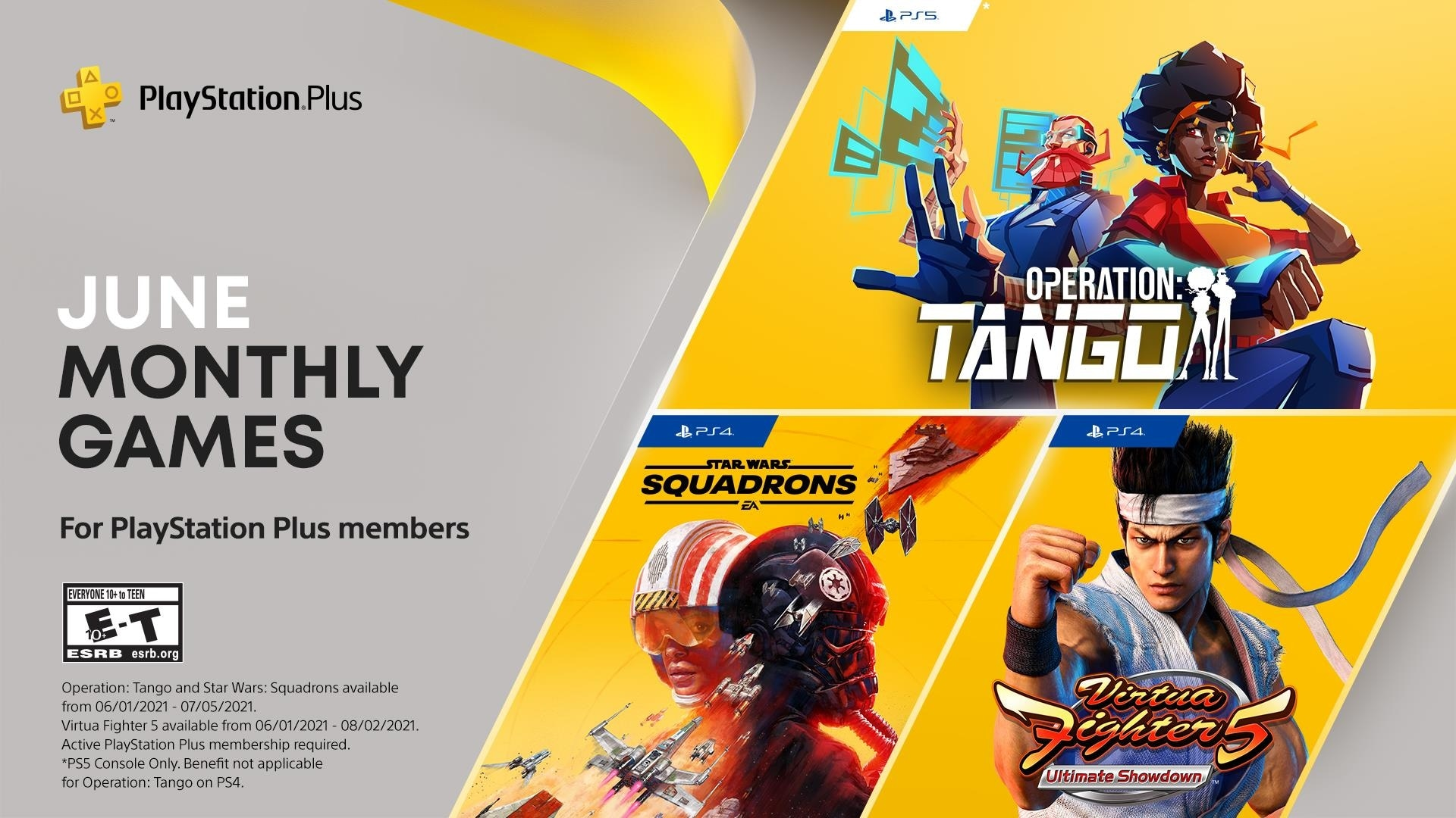 ps+ games for june 2021 star wars squadrons virtua fighter 5 ultimate showdown operation tango