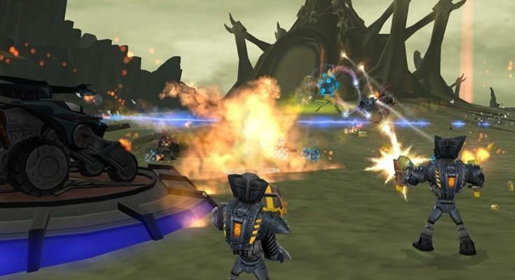 Ratchet and Clank deadlocked ps3 shooty shooty insomniac sony playstation