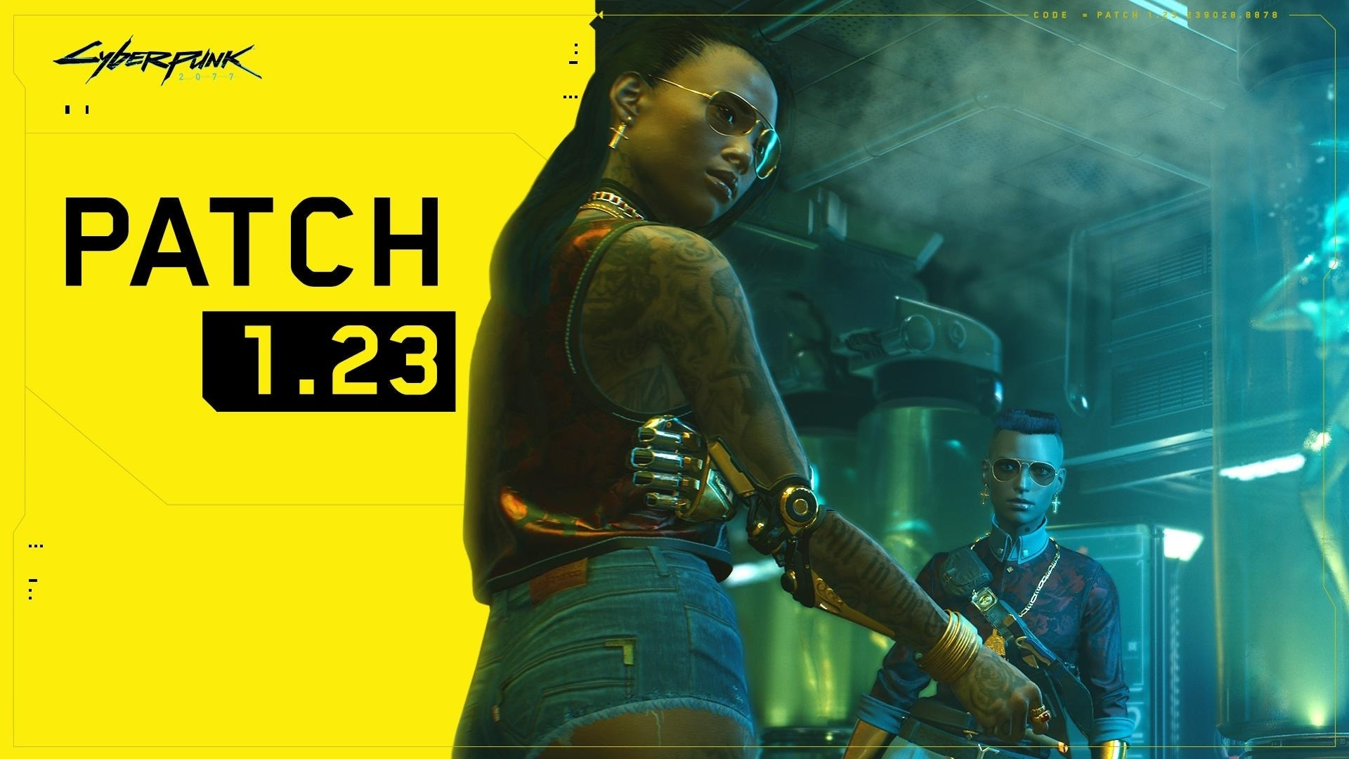 cyberpunk 2077 patch 1.23 available now