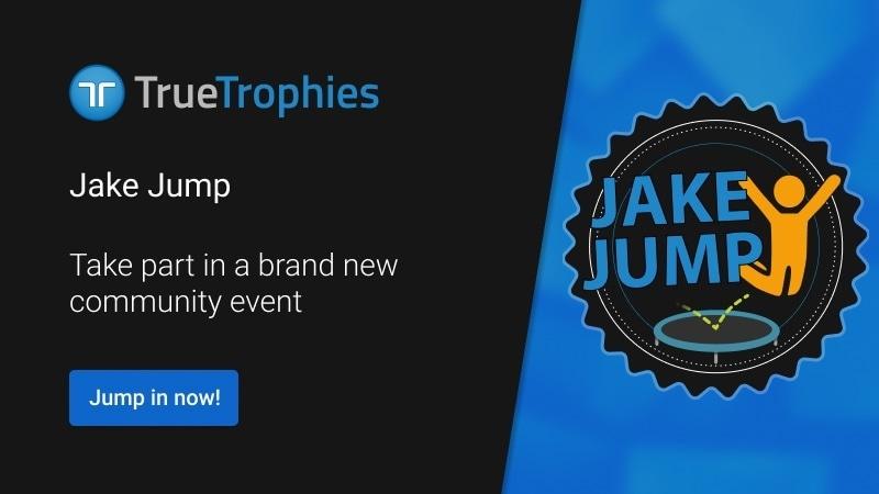 Jake Jump 2021 new community event TrueTrophies
