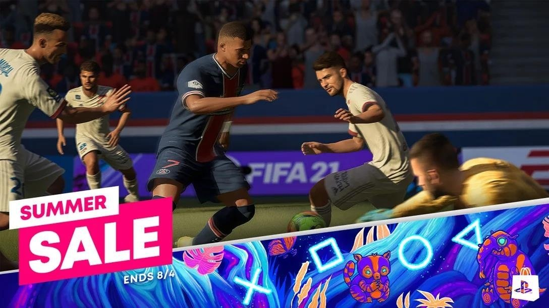 summer sale fifa 21 playstation store