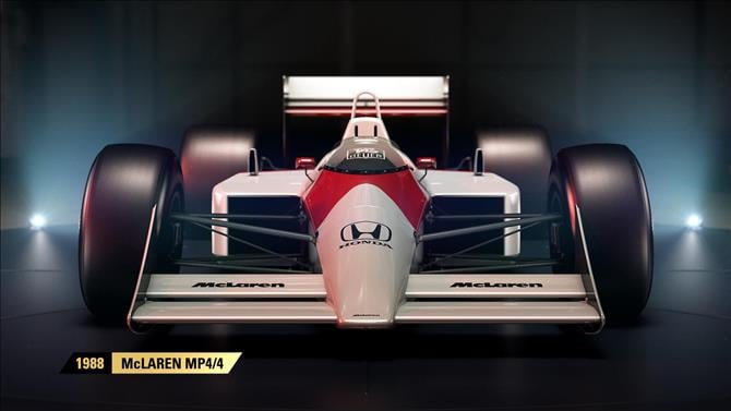 F1 2017 Confirms the Complete Lineup of Classic Racers