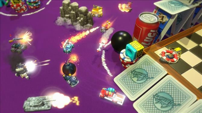 Micro Machines World Series Gets a Trailer and Screenshots