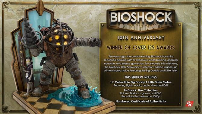 US-Only BioShock Tenth Anniversary Collector's Edition Announced