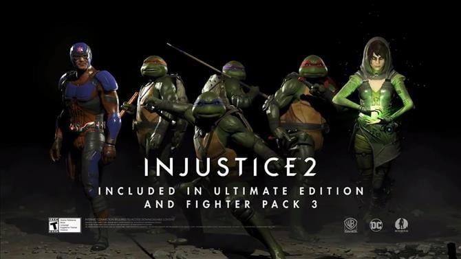 Teenage Mutant Ninja Turtles In Action In The Latest Injustice 2 Trailer