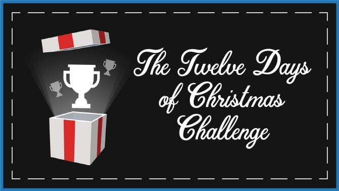 12 Days Of Christmas Challenge 10