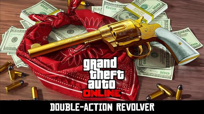 Unlock a Red Dead Redemption 2 Revolver Through Grand Theft Auto V