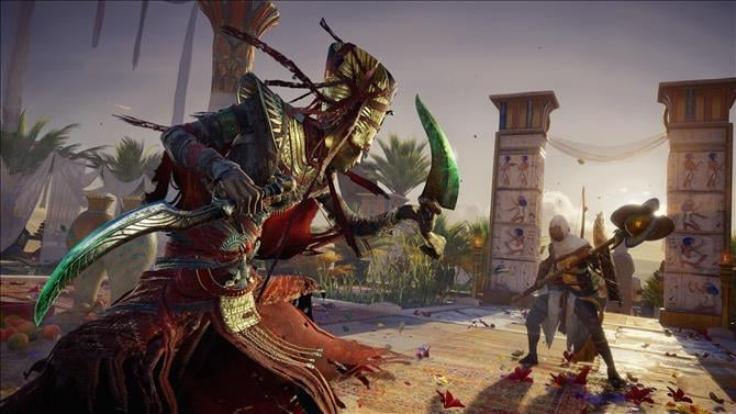 Assassin's Creed Origins The Curse of the Pharaohs DLC Gameplay