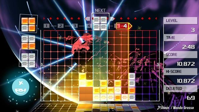 Lumines Remastered Trophy List Revealed
