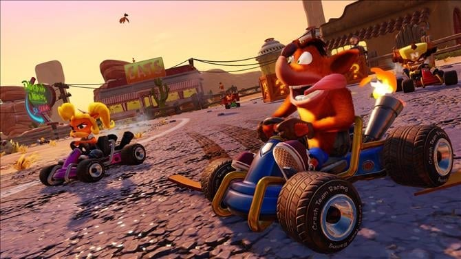 Crash Team Racing: Nitro-Fueled Gets Some Screens and Details