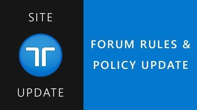 Update To The TrueTrophies Forum Policy