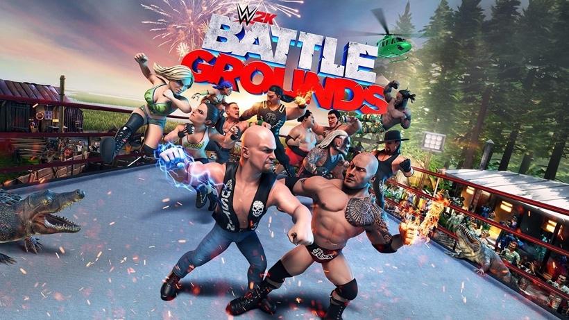 WWE 2K Battlegrounds ~ TitledHeroArt