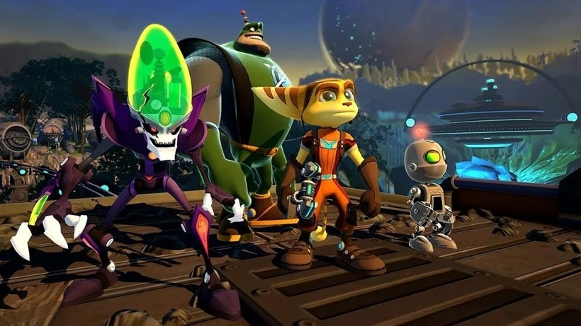 all 4 one ratchet and clank insomniac games sony PlayStation ps3