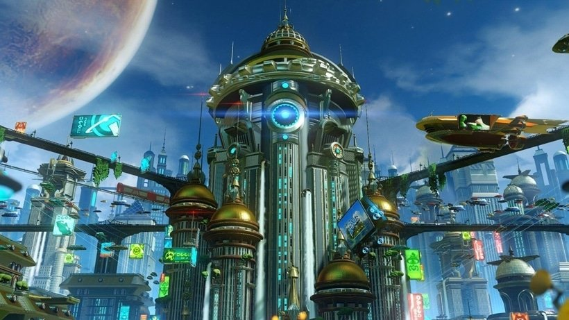 kerwan ratchet and clank insomniac games sony PlayStation ps3