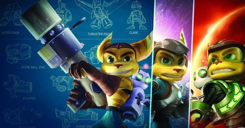 poster ratchet and clank insomniac games sony PlayStation ps3