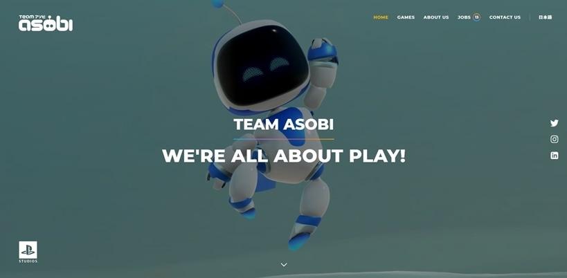 Team ASOBI new website