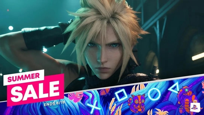 PlayStation Summer Sale refresh ff7 final fantasy 7