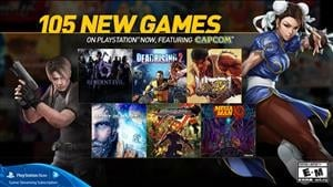 105 New Games Added To Playstation Now