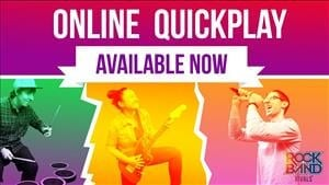 Online Quickplay Comes to Rock Band 4