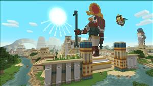 Minecraft Small Update Adds Egyptian Mythology Mash-Up Pack