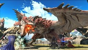 Final Fantasy XIV's Monster Hunter: World Crossover Has Begun